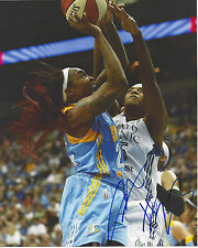 CAPPIE PONDEXTER Signed 8 x 10 Photo WNBA Chicago Sky Basketball Liberty Mercury