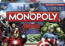 *NEW IN BOX* Marvel The Avengers Edition MONOPOLY Board Game Hasbro 8 years plus