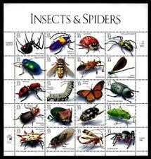 1¢ WONDER'S ~ 1998 MNH SOUVENIR SHEET W/ INSECTS & SPIDERS (FV = $6.60) ~ S155