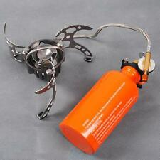 Portable Multi Fuel BBQ Oil/Gas Stove Backpacking Picnic Furnace Camping Outdoor