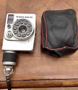 Vintage Canon Dial 35 Camera Unusual And Rare With Original Case