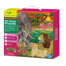 3D Boden Puzzles - wilde Tiere