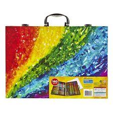Crayola Art Set Drawing Painting Supplies Kids Inspiration Art w/ Case 140 Piece