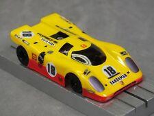 Ho Slot Car Parts - Hcs Porsche 917K Clear .010 Lexan Body Lot of 2 w/ Mask Kits