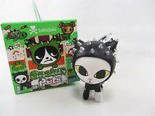 """Notte Black Cat w/ cast - Sandy's Cactus Pets Vinyl Figure Tokidoki approx 2.5"""""""