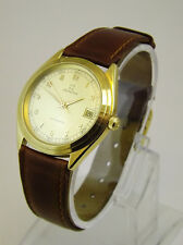 ZENITH OROLOGIO AUTOMATICO ORO 18 KT VINTAGE ANNI 70 SELFWIND GOLD WATCH