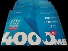 TELENOR BULGARIAN PREPAID SIM CARDS. Registered, Activated and Ready for Use