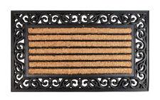 Kokos Fußmatte 75x45cm - Schmutzfangmatte Fußabtreter Türmatte Türvorleger Außen