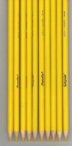 100 New Crayola YELLOW Colored Pencils FREE SHIPPING! Bulk Lot