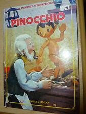 Pinocchio Puppet Storybook T Izawa Hijikata 1970