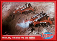 THUNDERBIRDS - Recovery Vehicles fire the Cables - Card #50 - Cards Inc 2001