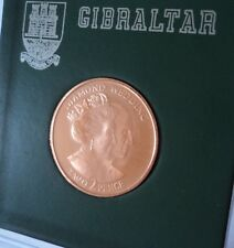 More details for 2007 gibraltar queen elizabeth ii diamond wedding anniversary 2p coin (bu unc)