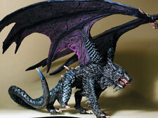 32mm Fantasy - Kit# VEL4009B - Malryte, Half Dragon, Dire Wolf - Resin