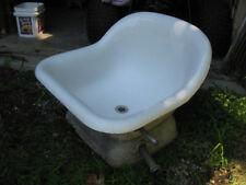 Vintage Cast Iron Sitz Bath Tub