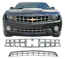 2010 2011 CHEVROLET CHEVY CAMARO LS 1LT 2LT CHROME ABS GRILLE GRILL OVERLAY
