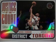 2003-04 TOPPS BASKETBALL JUSTICE OF THE COURT VINCE CARTER # JC 13  !!! BOX # 33