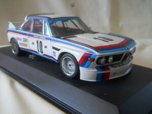 AutoArt BMW 3.0 CSL #10 Quester/Hezemans 1:18 Diecast