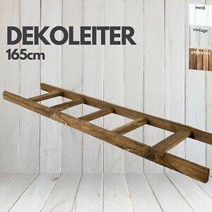 """Neue Holzleiter """"Altländer Art"""" 165cm Kleiderleiter Dekoleiter Handtuchalter"""