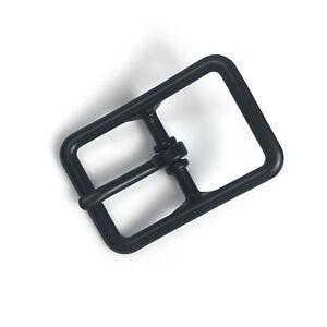 "1"" Bridle Buckle Black Plated Leather Hardware Craft Belt Strap Buckles"