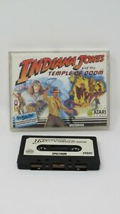 Sinclair ZX Spectrum 48K Game - INDIANA JONES TOD -  by Atari - Tested & Working