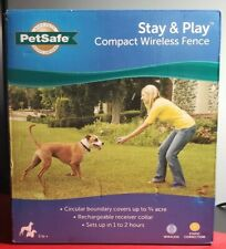 PetSafe Stay and Play Compact Wireless Fence BRAND NEW SEALED BOX PIF00-12917