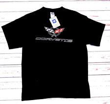 T-shirt CHEVROLET CORVETTE con cartellino ORIGINALE nera L