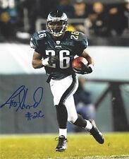 Lito Sheppard Autographed Signed 8x10 Photo Eagles Jets Raiders (JSA PSA Pass)