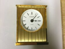Kaiser Wittnauer West Germany Vintage  Desk Clock  Tested Works