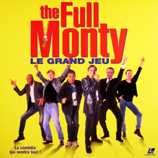 FULL MONTY - LE GRAND JEU WS VF PAL LASERDISC Robert Carlyle, Tom Wilkinson