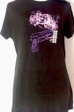 "5.11  ""Smokin' Hot"" Black Short Sleeve Graphic T Shirt Women's Size XL"