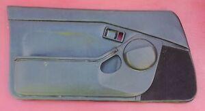 Toyota MR2 Black Power Door Panel LEFT DRIVER 1985 1986 1987 1988 1989