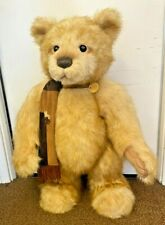 Charlie Bear Conrad Cb124912 with Tags and Scarf - 2012 - (Rom)