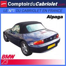 BMW Z3 Cabriolet - Capote IN Alpaca Nera Con Tasca Laterale (Con Cavi Lungo)
