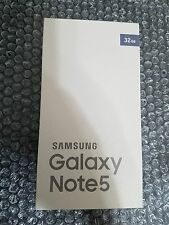 Brand New Samsung Galaxy Note 5 N920 GSM Unlocked 32GB Note5 - Silver Titanium
