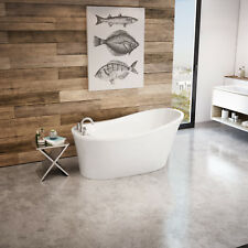 "MAAX ARIOSA 60"" X 32"" X 28"" ACRYLIC FREESTANDING BATHTUB IN WHITE"