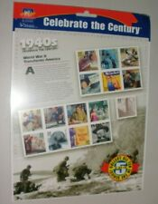 1976 CELEBRATE THE CENTURY 1940'S 15 DIFFERENT STAMPS-MINT IN  PACKAGE