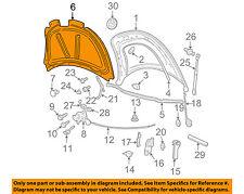 VW VOLKSWAGEN OEM Hood-Insulator Insulation Pad Liner Heat Shield 1C0863835K
