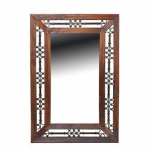 Wooden Traditional Fireplace Mirror Decorative Mirrors