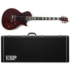ESP LTD EC-1000 LXEC1000VLRF Volcano Red Locking Fishman EXCLUSIVE Guitar w/Case