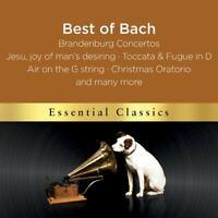 Johann Sebastian Bach The Best Of Bach (2017) 18-track CD Nuovo/Sigillato