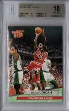 BGS 10 PRISTINE MICHAEL JORDAN 1992-93 Fleer Ultra #27 Bulls (10,10,9.5,10) RARE