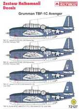 Techmod Decals 1/72 GRUMMAN TBF-1C AVENGER Torpedo Bomber