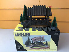 Mainline America HO Scale Covered Bridge