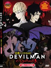 DVD ANIME ~ENGLISH VERSION~ Devilman Crybaby Vol.1-10 End (UNCUT) + FREE DVD