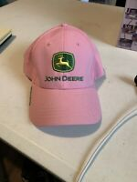 John Deere Pink & Green Hat Owners Edition Cap Nothing Runs like a Deere
