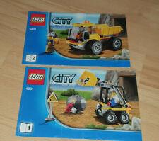 LEGO CITY 4201  Bauanleitung keine Steine