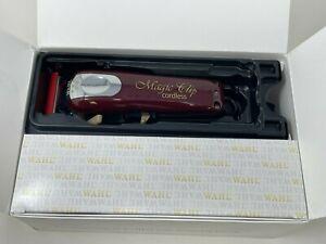 Wahl 5-Star Magic Clip Cord/Cordless Lithium-Ion Clipper - Red (Box Damage)