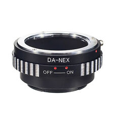 DA-NEX Pentax K PK DA Lens to Sony NEX 5R F3 7 A7S A7R A7II A6300 Adapter Ring