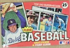 1982 FLEER BASEBALL STICKER ALBUM