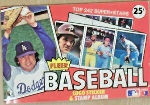 1982 FLEER BASEBALL STICKER ALBUM